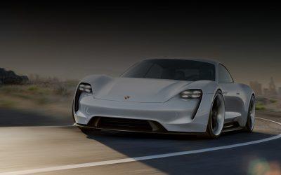 A Porsche teljesen elektromos sportautója: TAYCAN