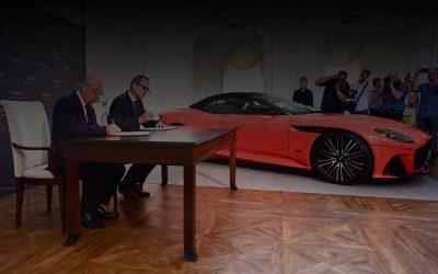 James Bond kocsija Magyarországra jön – májusban Aston Martin szalon nyílik Budapesten!