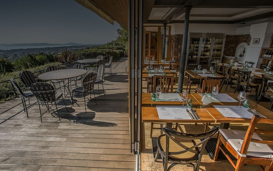 Csodálatos panoráma és remek borok a Balatonnál